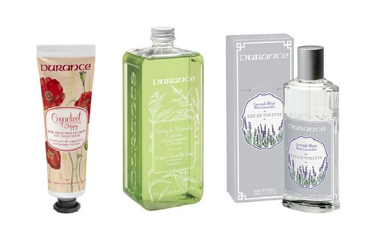 Durance - produits naturels, haut de gamme - made in France