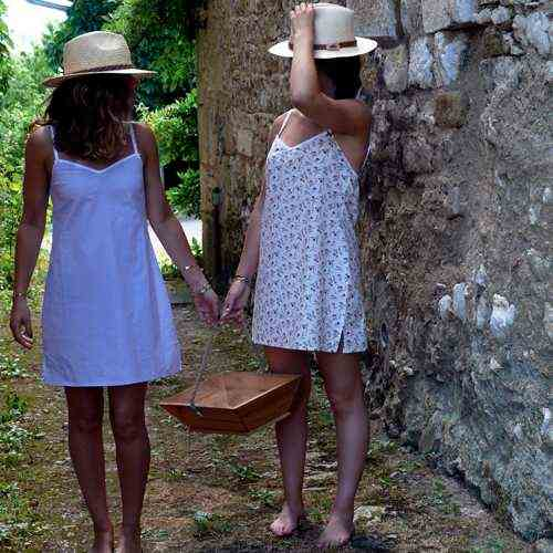 Fleurs Pois et Cie : tenues légères et made in France à porter nuit et jour