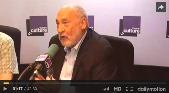 Joseph E. Stiglitz, sur France Culture