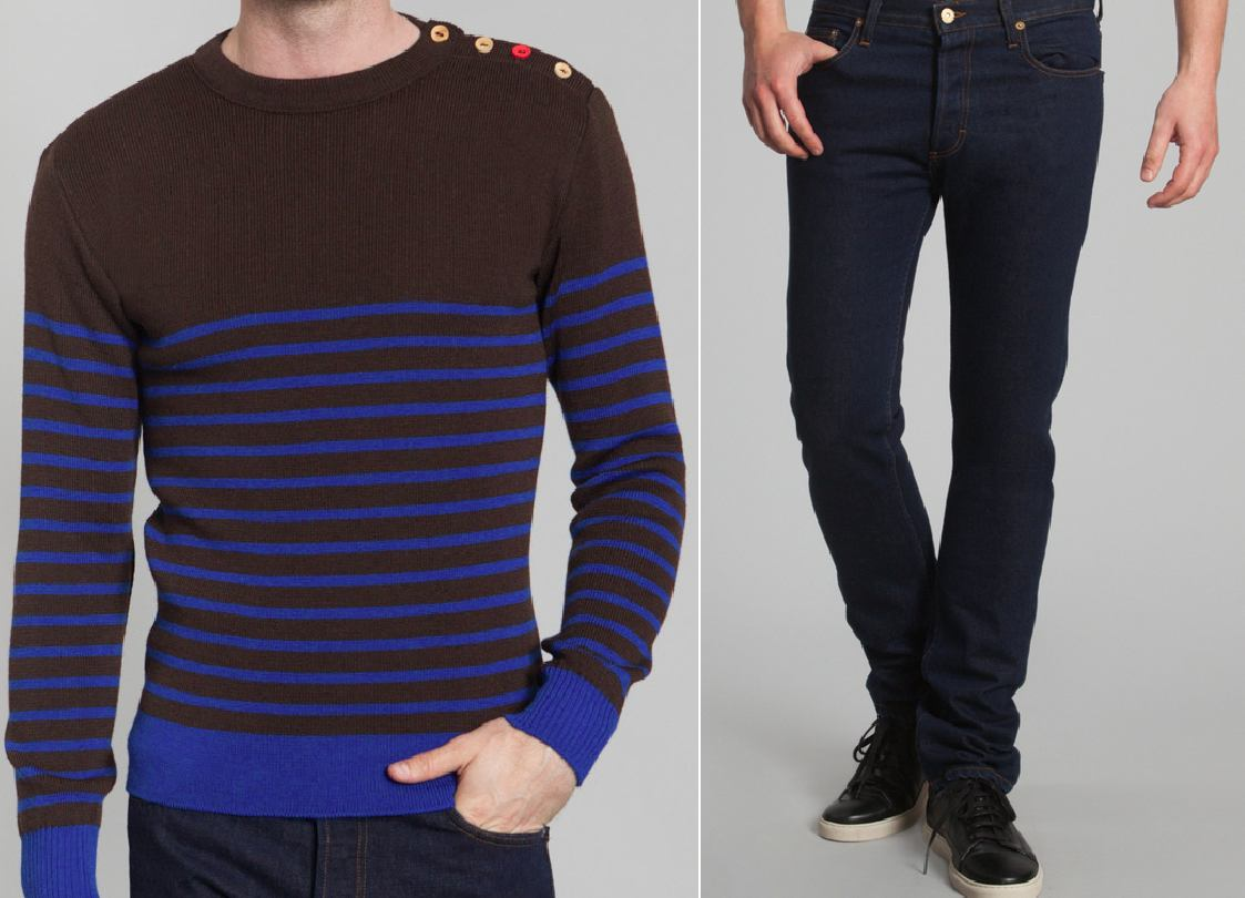 Wait, tenues homme made in France