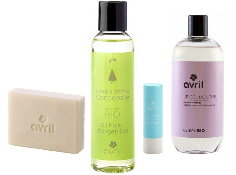 Avril, cosmetiques bio et made in France