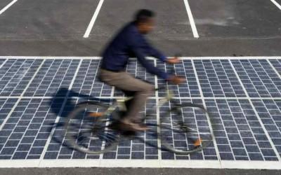 Energie solaire : 1 000 kilomètres de route à énergie positive d'ici à 2020