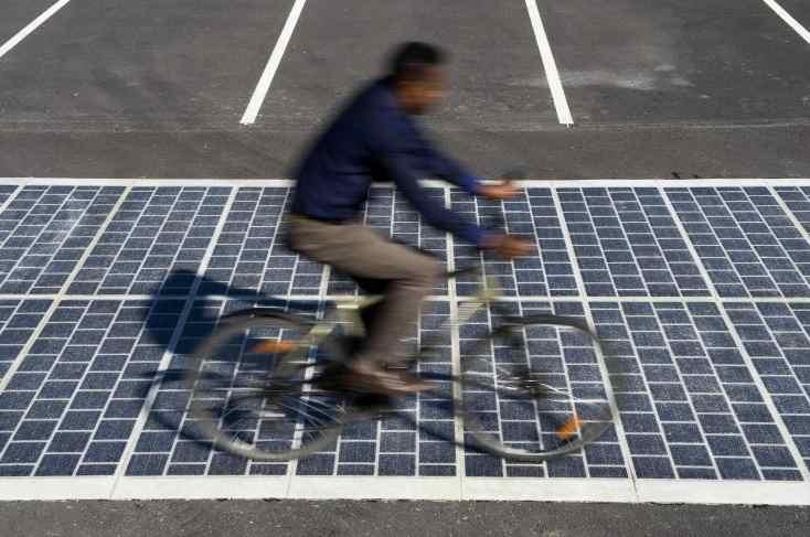 Wattway, revetement de route photovoltaique