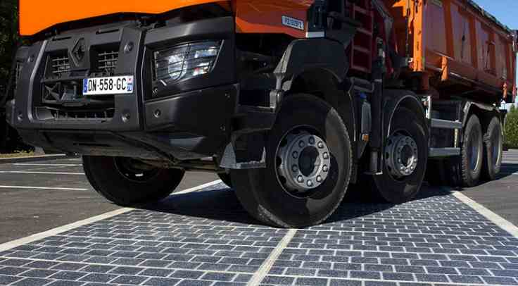 Wattway, revetement solaire made in France