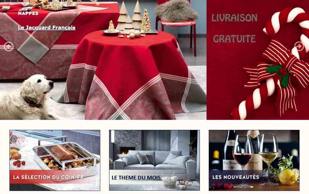 Coin-fr.com - produits haut de gamme made in France pour la maison
