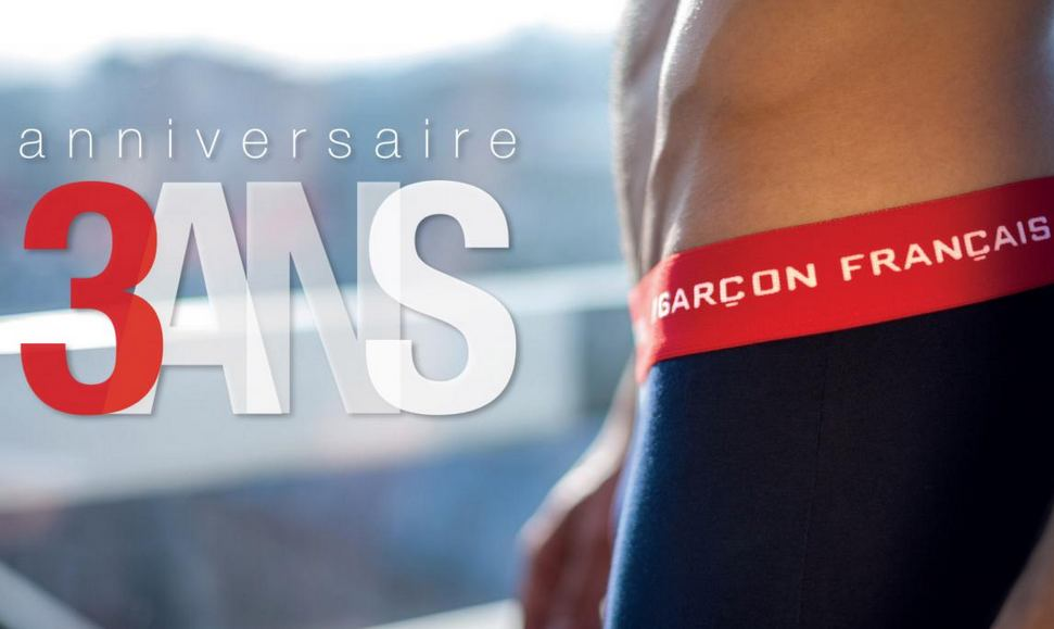 Garçon francais, sous-vetements made i France