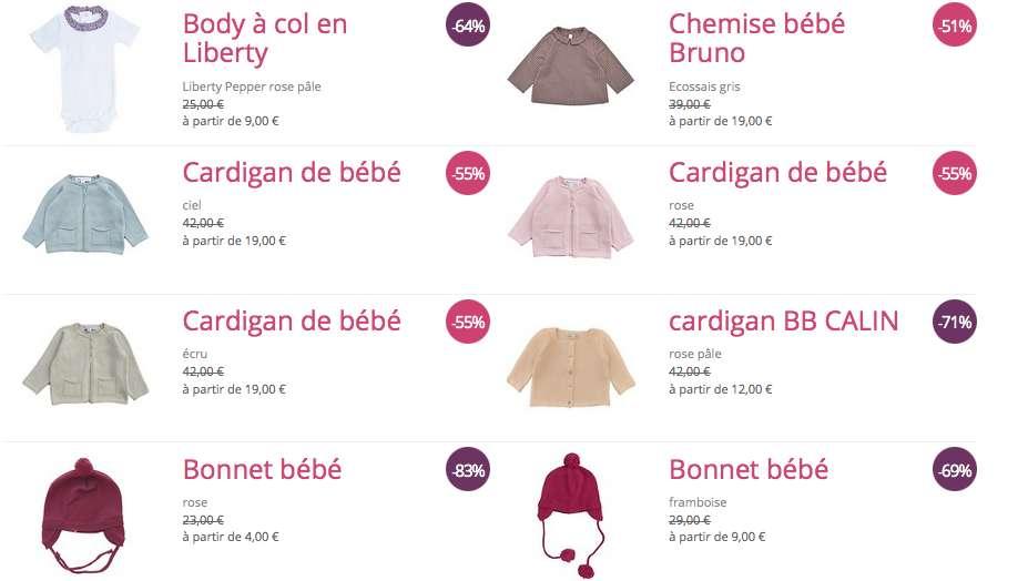 Vêtements enfant : Marie Puce brade ses anciennes collections
