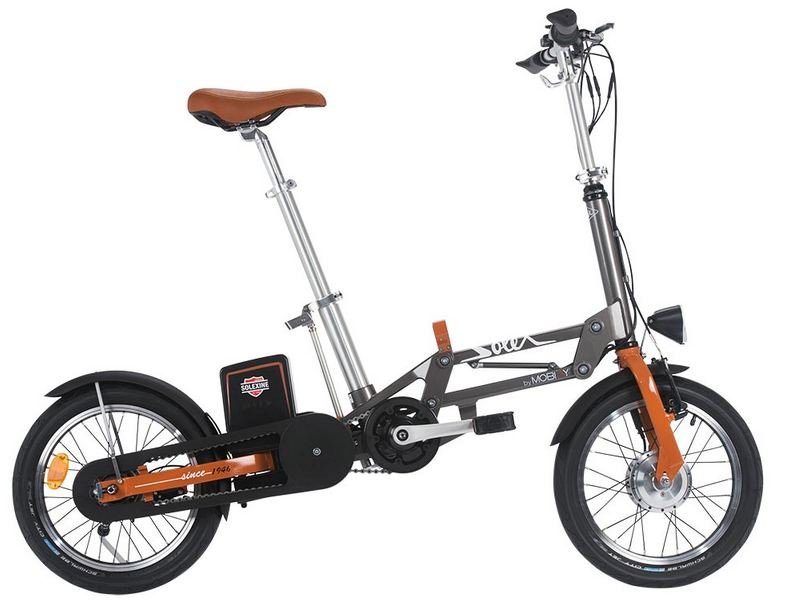 Mobiky by Solex, velo electrique pliant made in France