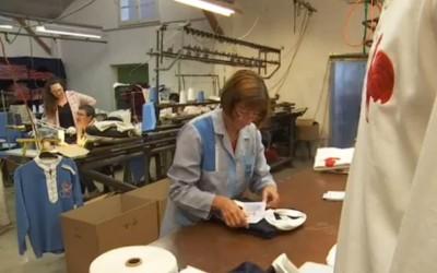 Sports d'Epoque : fabrication française et à l'ancienne de maillots de sport