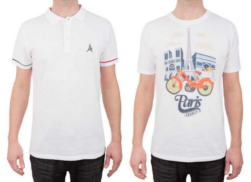 Made in France, polos et t-shirts fabriqués en France