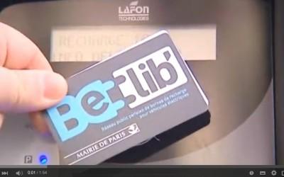 BElib, nouveau réseau de bornes  de recharge «made in France»