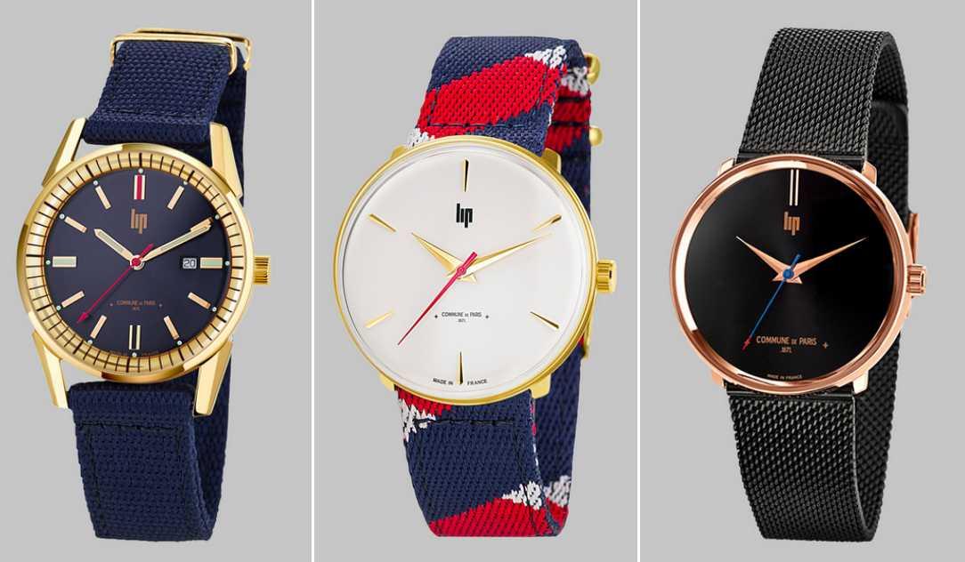 Commune de Paris-Lip- montres made in France