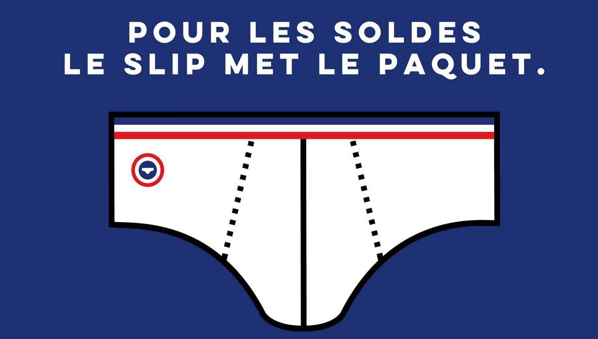 Solde chez Le Slip français