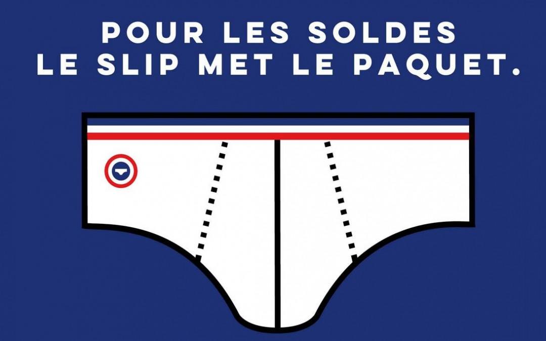 Le Slip français solde ses sous-vêtements et vêtements «made in France»