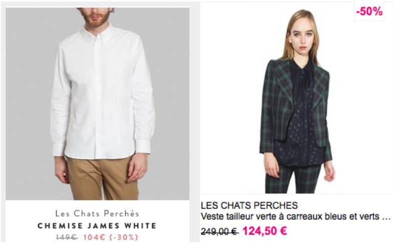 """Vêtements """"made in France"""" : jolis soldes chez Les Chats perchés"""