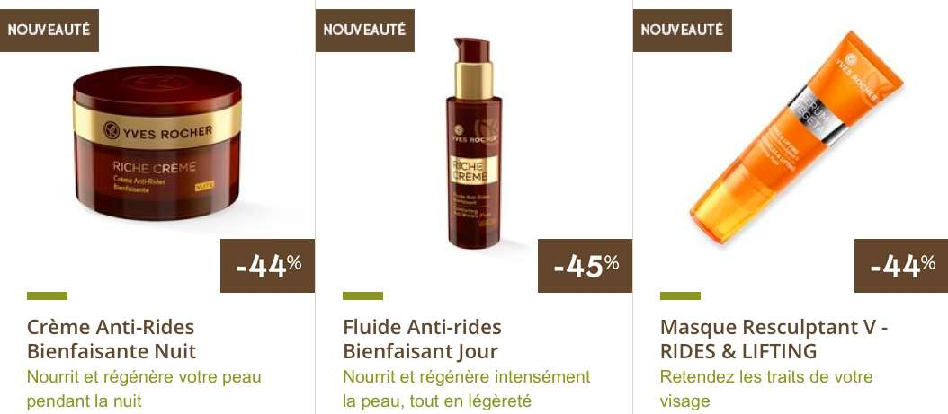 "Yves Rocher : cosmétiques naturels et bio 100 % ""made in France"""