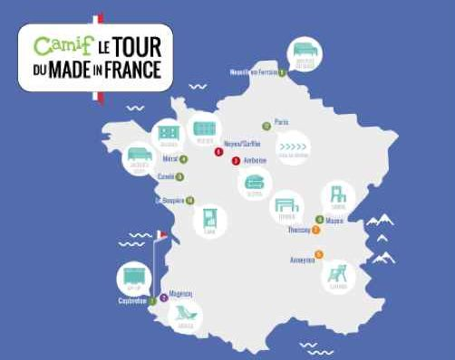 "Camif : promotions ""made in France"" jusqu'au 19 juin"