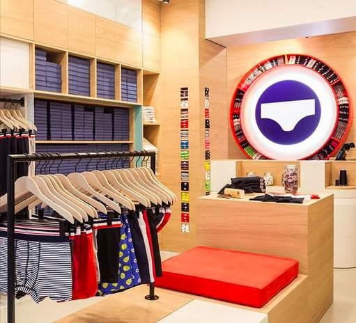 Le Slip français, nouvelle boutique Saint-Germain-des-Prés à Paris