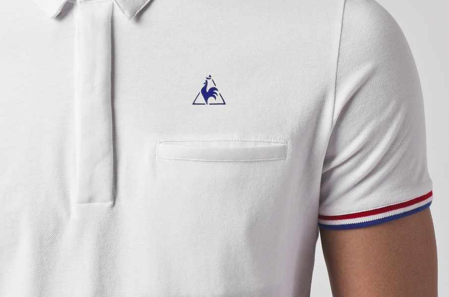 Polo Le Coq Sportif made in France