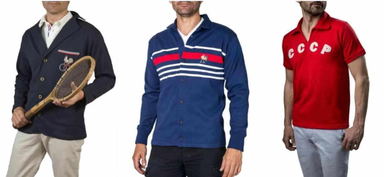 Sports d'Epoque, maillots reedites et made in France