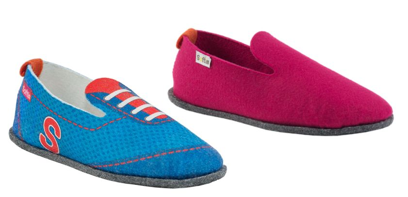 Chaussons enfant made in France, Soft'in