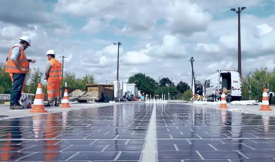 """WattWay : la route solaire """"made in France"""" est officiellement lancée"""