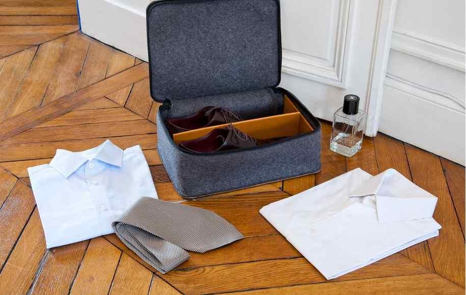 Housse à chaussures S-Key, fabriquée en France