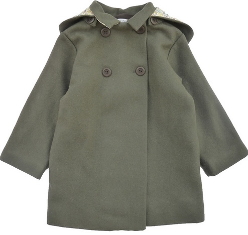 """Joli manteau d'hiver """"made in France"""" chez Marie Puce"""