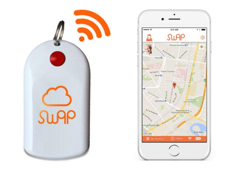 Swap, le porte-clé made in France qui rassure malades d'Alzheimer et entourage