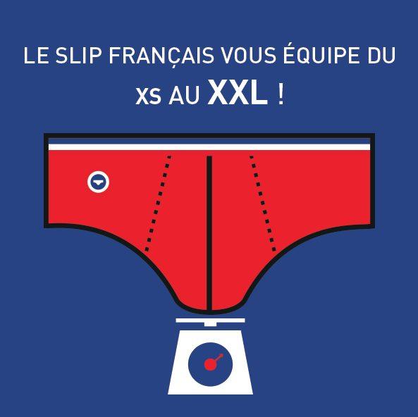 Le Slip français passe au XXL