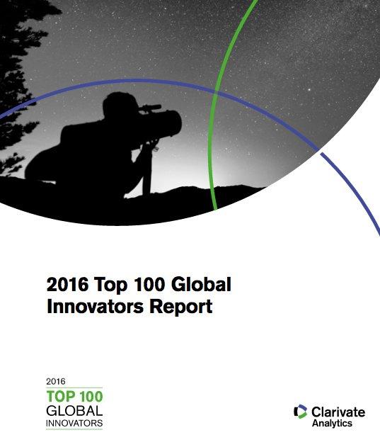 Top 100 Global Innovators : la France toujours troisième