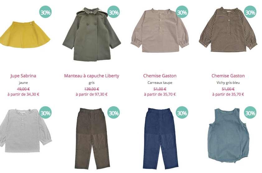 """Vêtements enfants """"made in France"""" : ventes d'hiver chez Marie Puce"""