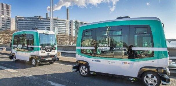 Des navettes autonomes made in France dès demain à Paris