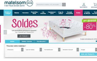 Matelsom : nouvelle remise sur la literie et le linge de maison «made in France»