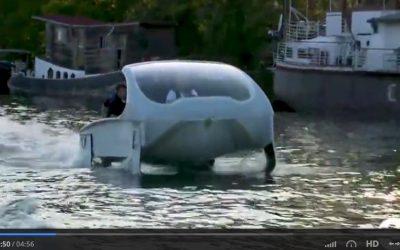 Techno made in France : le premier Seabubbles a navigué sur la Seine !