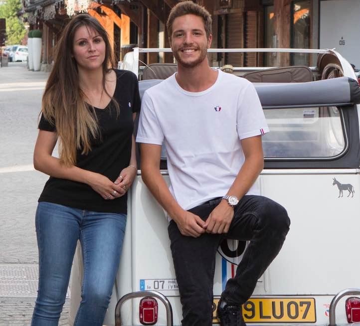 Tranquille Emile : vêtements basiques homme et femme fabriqués en France