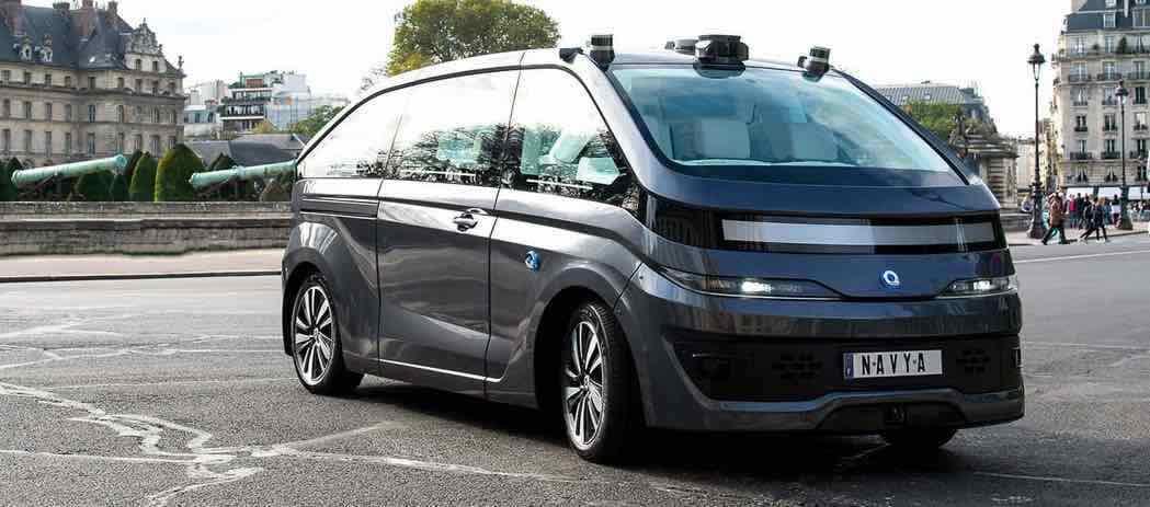 """Après la navette, voici le taxi autonome """"made in France"""""""