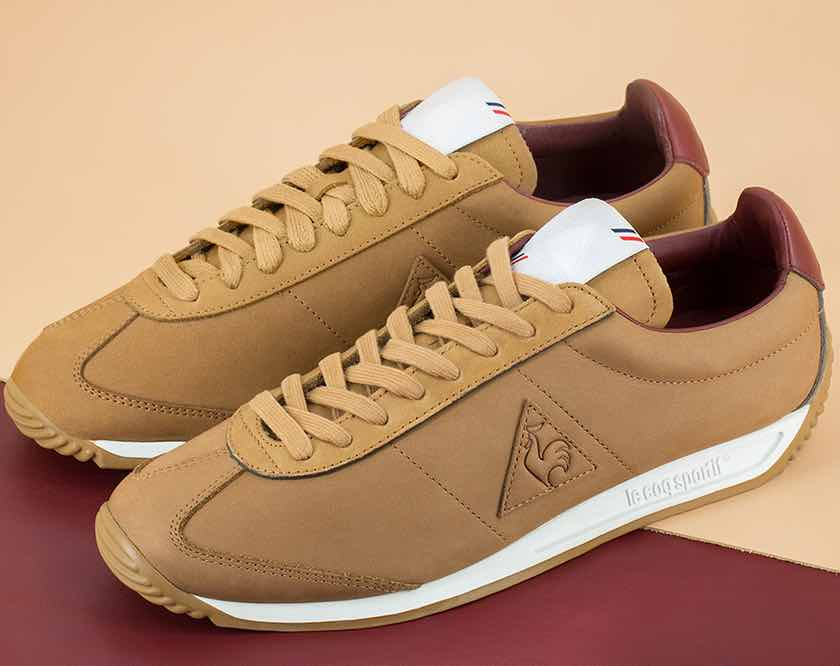 "Le Coq Sportif fait la part belle aux sneakers ""made in France"""