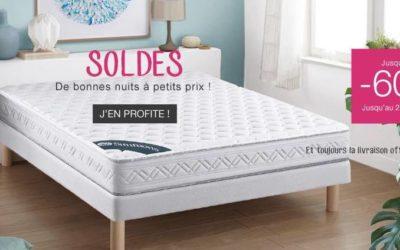 Literie et linge de maison «made in France» en solde chez Matelsom