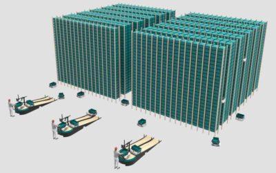 Avec Exotec Solutions, la logistique entre dans la 3e dimension