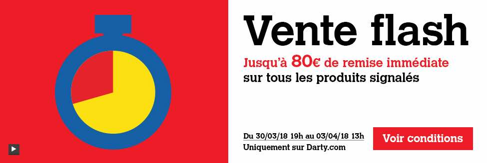 "Vente flash de Pâques chez Darty, y compris sur le ""made in France"""