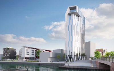 Danube, la première tour d'habitations à énergie positive