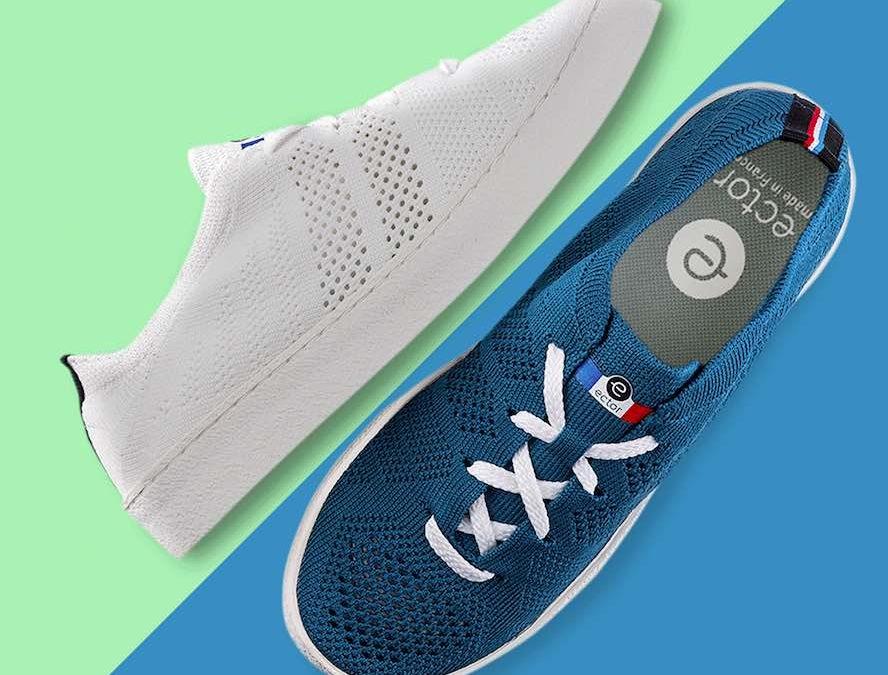 Cet été adoptez Ector, le sneaker aéré, écolo et made in France