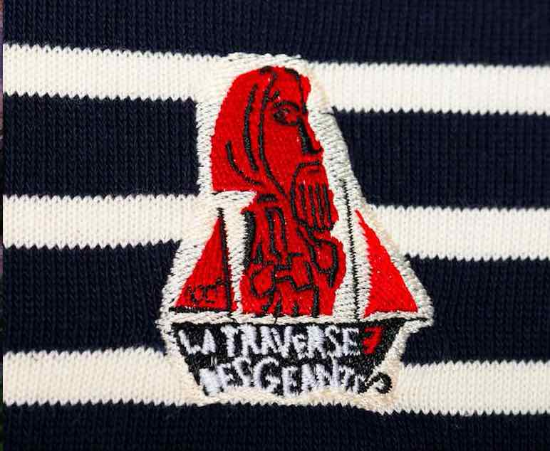 Dalmard Marine  : un marinière aux couleurs de La Traversée des géants