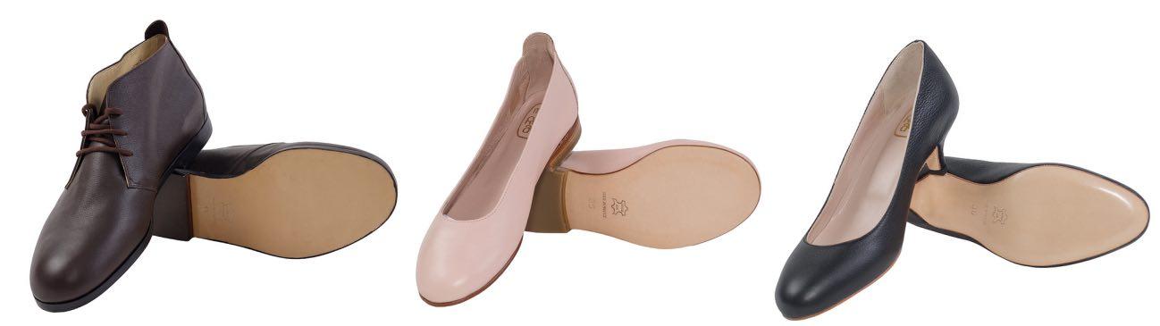7c35ef062770c0 Le catalogue maison comprend une petite vingtaine de modèles. Côté femme,  le choix s'étend de la légère sandale d'été à la « botte d'équitation » ...