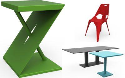 ZHED : meubles et accessoires en métal fabriqués en France