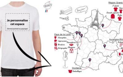 Made in France : la marque lance la personnalisation de t-shirts