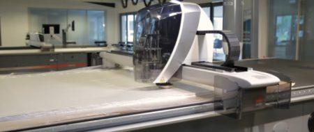 Lectra, machines de découpe de textile fabriquées en France.