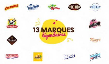 Carambar & Co : bonbons et chocalats de treize marques légendaires, fabriqués en France