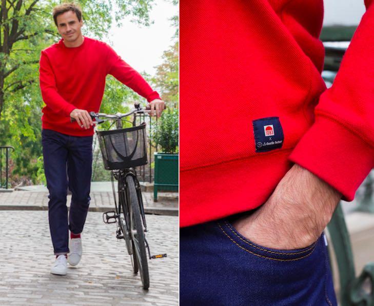 Sweat et jeans made in Frane : La Gentle factoyr et 1083.